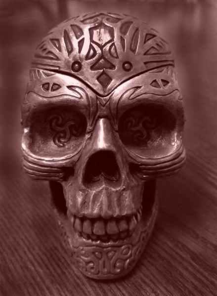 ancient antique art death